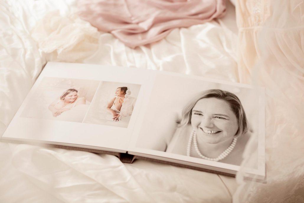 Boudoir Fotoalbum Layout