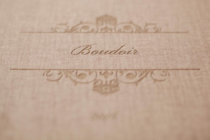 Boudoir Fotoalbum Streichelbuch