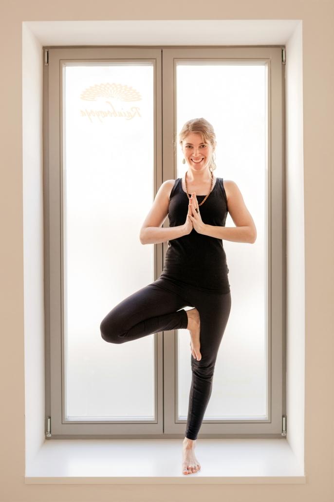 Personality Portrait Lokation yoga