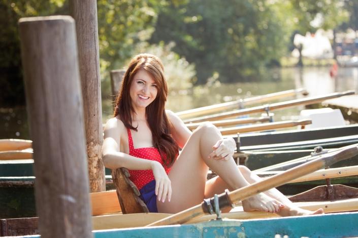 Portrait Natur Sommer Boot