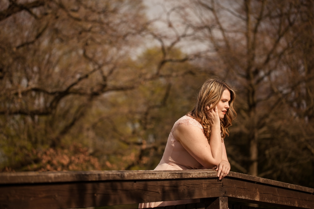 Portrait Natur Sommer Brücke