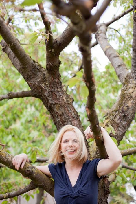 Portrait Natur Outdoor Baum Sommer